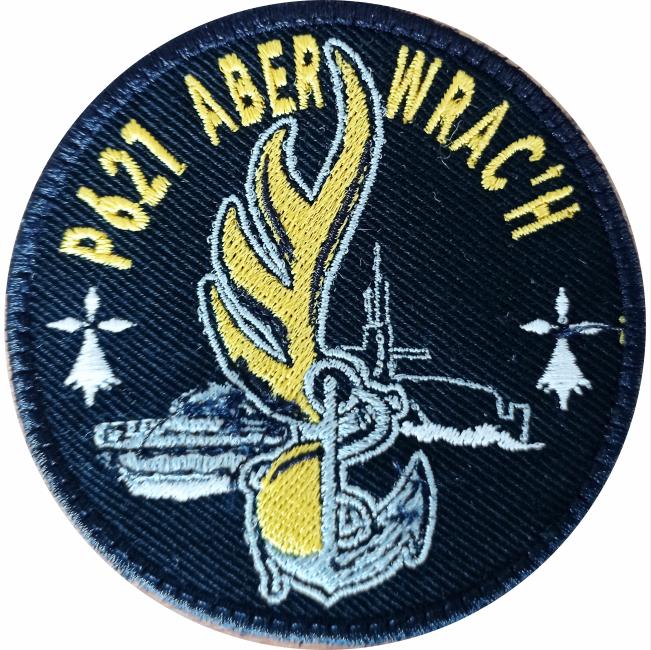 6€ – Patch – P621 ABER WRAC'H