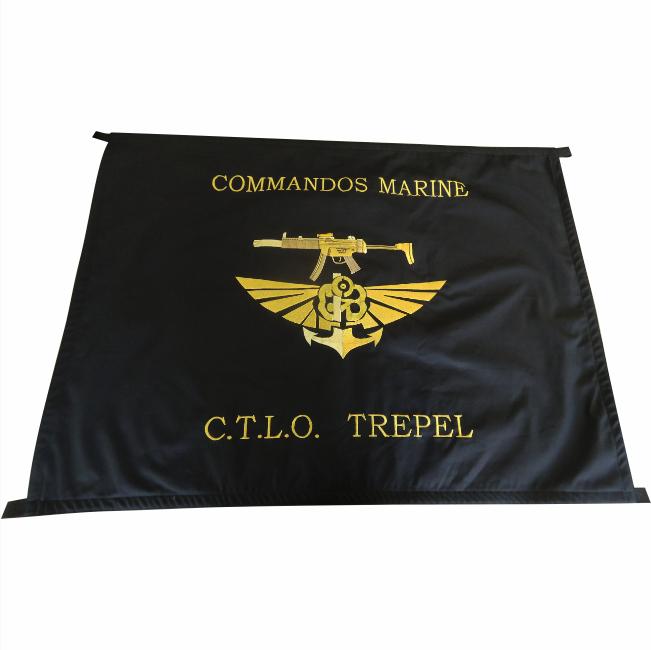375 € – Drapeau commando marine