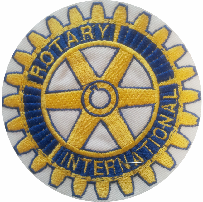 6 € – Patch – Rotary club