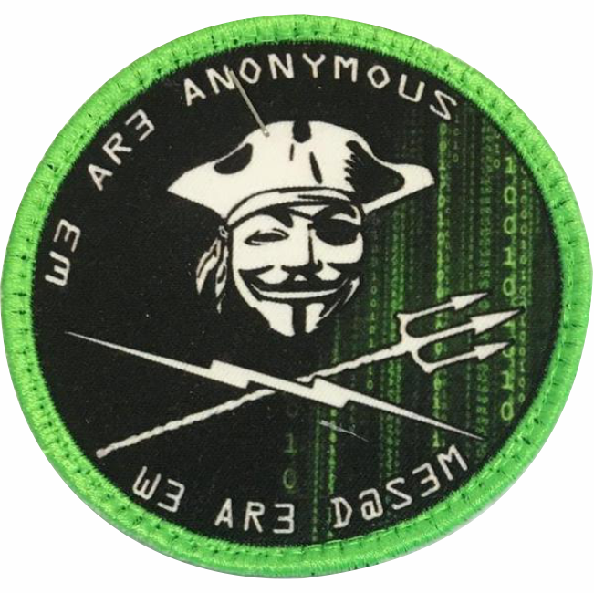 4€ – Patch – Anonymous