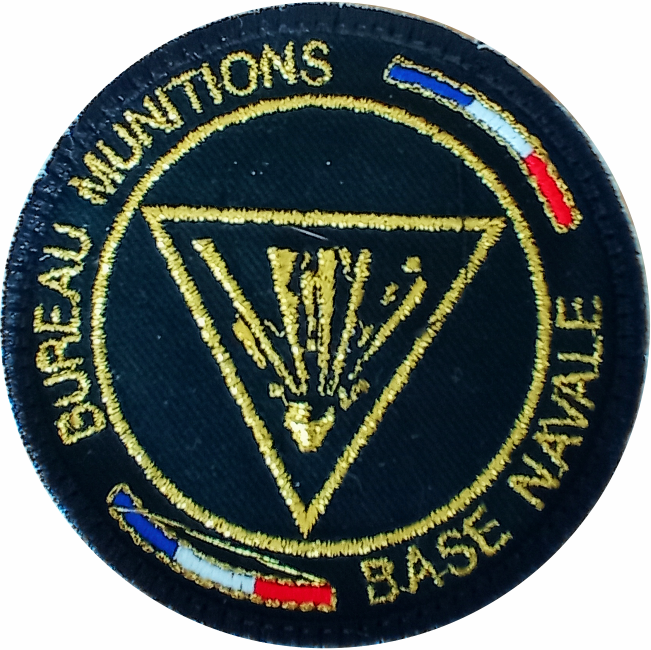 6€ – Patch – Bureau munitions base navale de brest