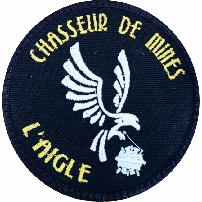 6€ – Patch – Chasseur de mines AIGLE M647
