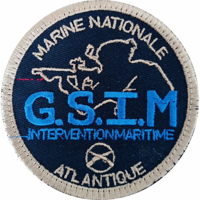 6€ – Patch – G.S.I.M Intervention maritime