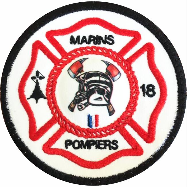 4€ – PATCH – Marins pompiers 18